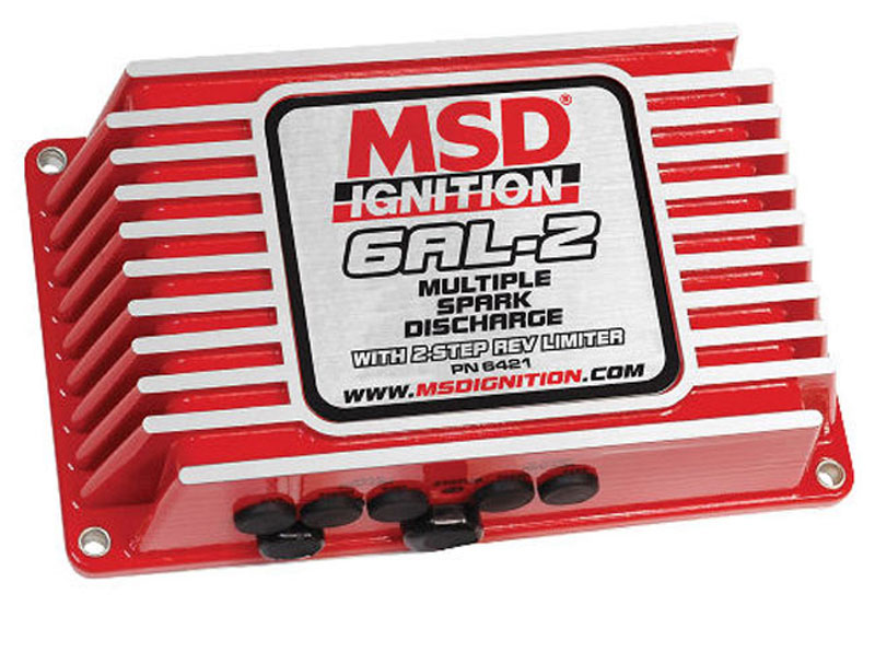 www.us-parts-online.de - ZÜNDBOX-MSD-6AL-2/ROT